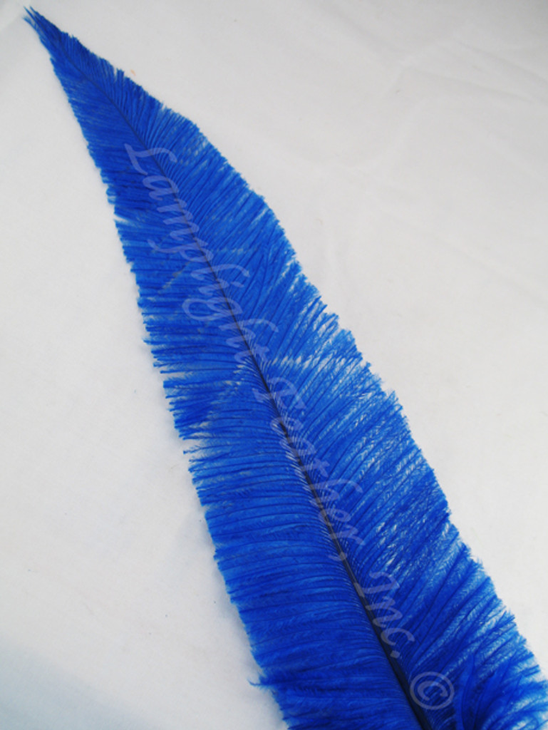 OSTRICH NANDU, LONG, BLUE 16-19 inch per each