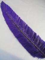 OSTRICH NANDU, STANDARD, Purple 12-16 inch per Each