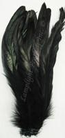 Coque, 8-10 inch, Black, per ounce