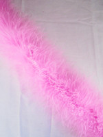 Candy Pink Feather Boa Marabou 15 gram per Each