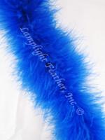 Marabou FEATHER Boa, 20 gram, Royal Blue per Each