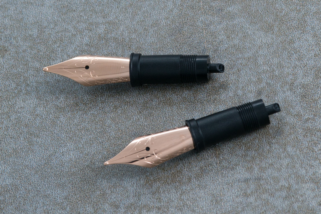 Rose Gold Steel Nib Unit