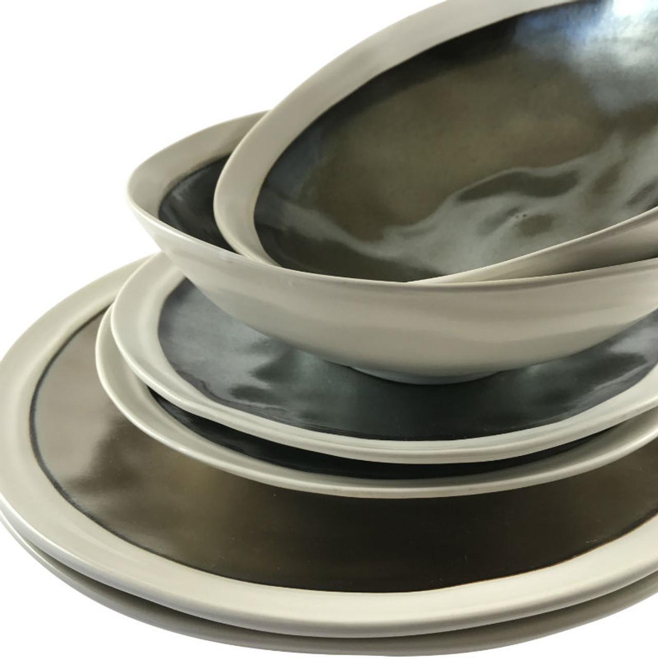 Alternate view Robert Gordon Flux Collection Dinner Set - Platinum showing a collection of matching Bowls  sc 1 st  Casetta Living & Robert Gordon Flux Collection Dinner Set 6 piece