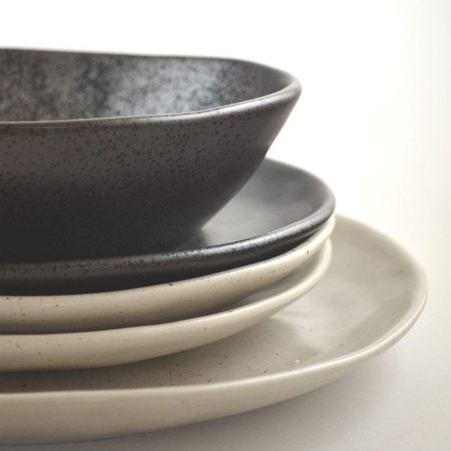 ... Dinner Collection Natural and Charcoal Café Style Restaurant Grade & Robert Gordon - Dinner Plate 28cms Earth Collection Colour Natural
