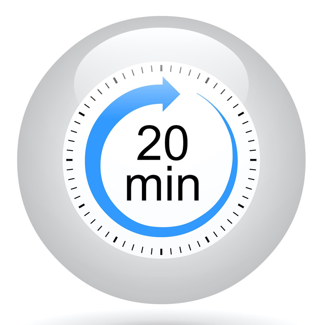 ONLY 20 MINS TO MAKE YOUR DEMO RELEVANT