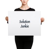 Solution Junkie - Canvas
