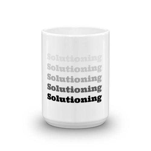 Solutioning bw Mug