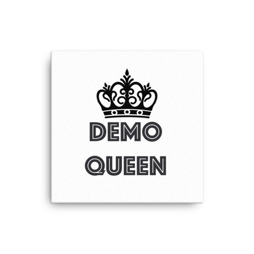 Demo Queen Canvas