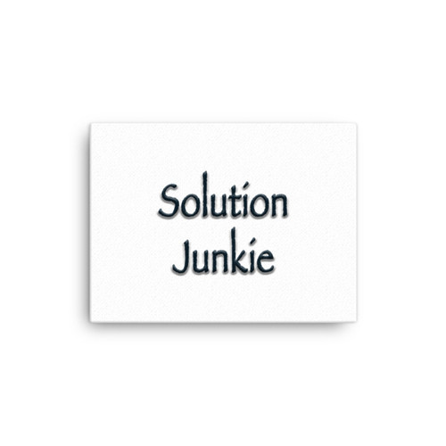 Solution Junkie - Canvas