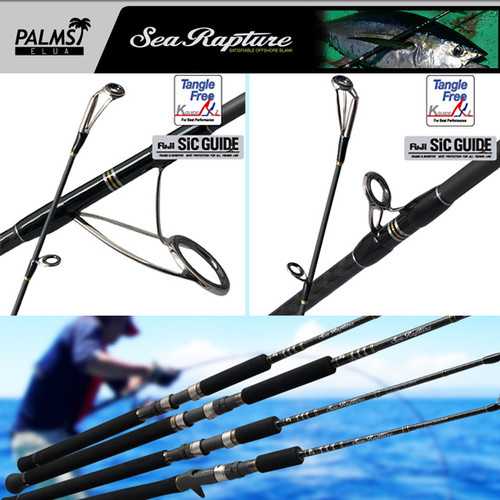 Palms Sea Rapture Jigging Rods