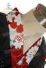 Wa Lolita: Ajise (hydrangea) in HINA MATSURI Embroidery Lace Cotton Kimono Outfit*4pcs
