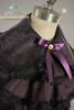 Last Chance: Classic Lolita Long Sleeves Flower Lace Blouse& Detachable Jabot*Plum Instant Shipping