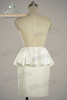 Back View (white wool + white brocade version)