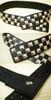 Punk Square Rivets Black Wide Waist Belt*Instant Shipping
