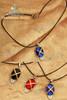 Gothic Restrained Diamond Pendant Necklace (Shakugan no Shana)