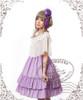 Model Show (Lilac Ver.) (cape: TP00104, dress: DR00113, birdcage petticoat: UN00019)
