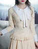 Musical Palmer Gothic Lolita Long Sleeves Blouse & Detached Collar*2colors Instant Shipping