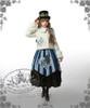 Model Show (White Ver.) (hat: P00587, JSK: DR00112N, black skirt: SP00166, leggings: P00182)