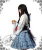Sumoru Kingyo, Wa Lolita Blue & White Kimono/Yukata 6pcs Set*2colors