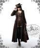 Model Show (flat hat: P00598, coat: CT00051N, blouse: TP00145, corset: Y00039, leggings: P00182)