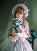 Model Show (Light Grey Light Mist Velvet Ver.) Bonnet P00641, Blouse TP00137N