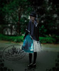Model Show (hat: P00604, brooch: P00605, JSK: DR00176, blouse: TP00051N, leggings: P00182)