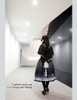 LAST CHANCE: The Sacred Academy of Alexandria, Elegant Gothic Lolita Academic Scholastic Stand Collar Frilly Cape*4colors Instant Shipping