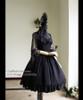 Co-ordinates Show (Black Ver.) (dress: DR00178, blouse: TP00101N, fan: P00580)