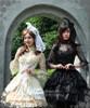 Model Show (cutsew: TP00101N, corset: Y00025N, fan: P00580, ivory pannier bloomers: UN00024, black skirt: SP00138)