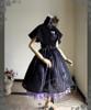 Co-ordinates Show (Violet + Black Ver.) (Cape: CT00251, birdcage petticoat: UN00019)