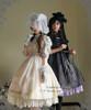Model Show (Right: hat: P00546, cutsew: TP00137, gloves: P00592, birdcage petticoat: UN00019) (Left: hat: P00533, cape: CT00251, blouse: TP00060, necklace on hand: AD00282, birdcage petticoat: UN00019)