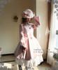Model Show (Pink Ver.) (hat: P00574, choker: AD00577, dress: DR00174, skirt: V00002N, birdcage petticoat: UN00019)