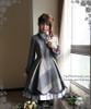 Model Show (Grey Ver.) (blouse: TP00134, skirt: SP00154, petticoat: UN00022)