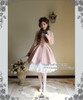 Model Show (Pink Ver.) (dress set: DR0178, choker: AD00572, wristlet: AD00601, fan: P00580, petticoat: UN00022, leggings: P00187)