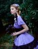Model View (Violet Ver.) corset Y00027, brooch P00627