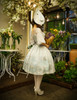 Model Show (Fairy Mint + Grey Ver.) (hat: P00609, birdcage petticoat: UN00019, leggings: P00187)