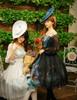 Group Model Show (hat: P00609, birdcage petticoat: UN00019)