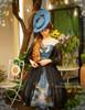Model Show (Misty Blue + Black Ver.) (hat: P00609, birdcage petticoat: UN00019)