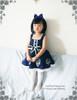 Model Show w/o Outside Stripe Dress (Dark Blue Ver.) hair dress NOT FOR SALE