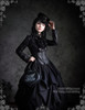 Model Show (hat: P00546, jacket: CT00133N, blouse: TP00017, brooch: CT00235, tote: P00585, birdcage petticoat: UN00019LN)