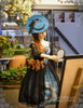 Model Show (MIsty Blue Ver.) (silk dress: S03011, birdcage petticoat: UN00019)
