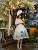 Model Show (Fairy Mint Ver.) (silk dress: S03011, birdcage petticoat: UN00019)