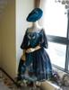Co-ordinates Show (Misty Blue Ver.) (silk dress: S03011, birdcage petticoat: UN00019)