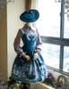 Co-ordinates Show (Misty Blue Ver.) (dress set: DR00182, blouse: TP00134, birdcage petticoat: UN00019)