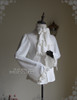 Pirate Gothic Ouji Prince Stand Up Collar Blouse &Jabot for Man*2colors Instant Shipping