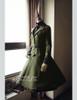 Co-ordinates Show (Dark Green Ver.) (jacket: CT00262, blouse: TP00147, birdcage petticoat: UN00019N)