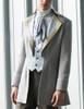 Steampunk Men Dress Coat Tuxedo Jacket Dandy Fashion