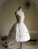 Side View (White Ver.) (birdcage petticoat: UN00019)