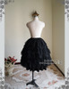 Back View (Black Ver.) (short birdcage petticoat: UN00003N)