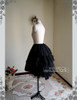 Side View (Black Ver.) (short birdcage petticoat: UN00003N)